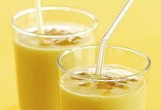 tropical breakfast juice
