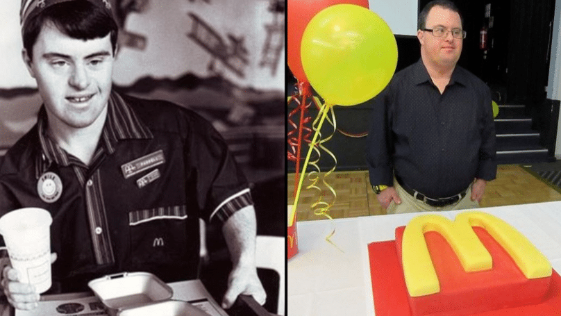 McDonald's Worker With Down's Syndrome